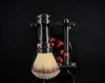 Lightsaber Inspired Shave Brush
