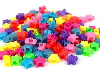 150 Colored Stars Kandi Beads