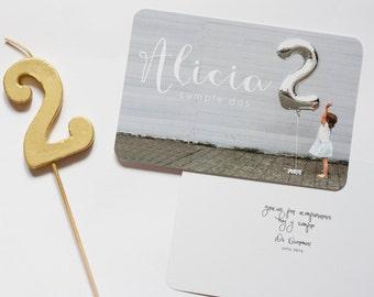 Cards or custom birthday invitations