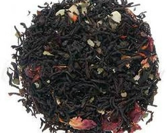 Cherry Almond Black Tea - Premium Loose Leaf Flavored Black Tea