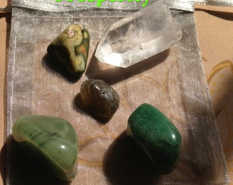 Crystal and Stone Collections,Prosperity, Calming,Creativity/Study, Chakra  MWCSCS002