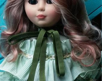 Gorgeous Vintage Zanini / Zambelli Italian Collectible Doll