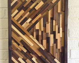 Wood Wall Art - Modern Wood Wall Art