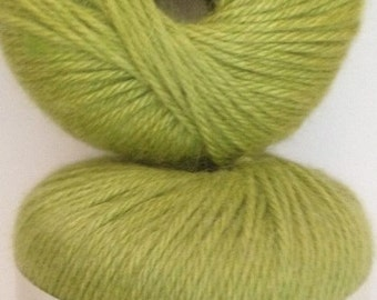 Patons Angora Bamboo Yarn, Color: Laurel Leaf--radiant lime, Material-- Bamboo,  Wool,  Angora,   Worsted Weight