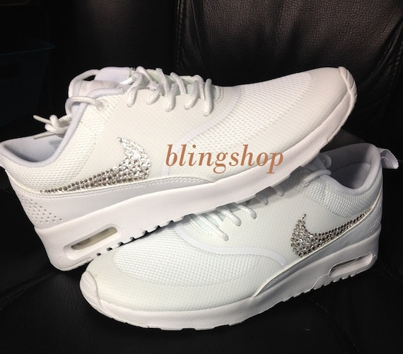 e113f5fd71ee Womens Nike Air Max With Rhinestones