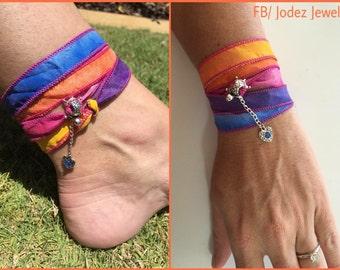 Rainbow Boho Turtle Wrap