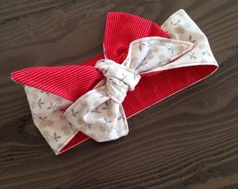 Reversible baby headband