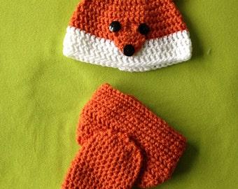 Newborn Fox Outfit