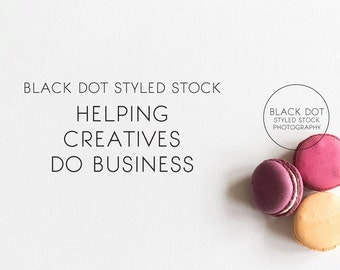 Purple, rose, peach macarons styled stock desktop photo - party + paper shop, blog, website header, food + lifestyle branding, design, sweet