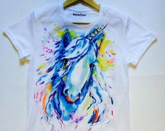 Unicorn t-shirt handmade