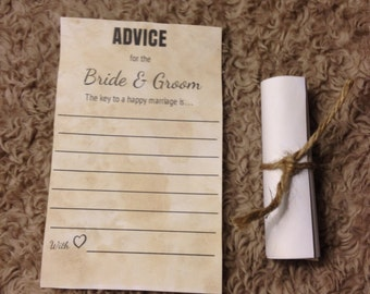 Set of 20 message in a bottle, wedding advice, wedding guest book, beach wedding theme