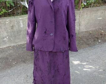 Purple Women's Zombie Business Suit - Size 12