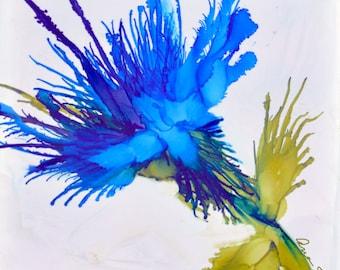 Blue Flower   - Botanical Art