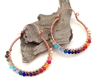Multicoloured Hoops