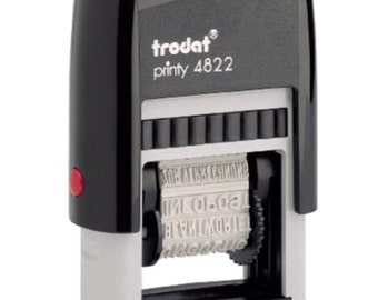 Multi-Word Band Self-Inking Stamper 12 messages