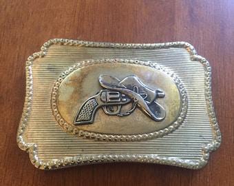 Vintage Belt Buckle Cowboy Western