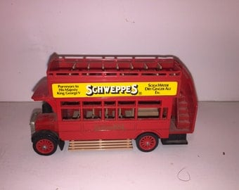 Matchbox Models of Yesteryear Y23 Double Decker Bus
