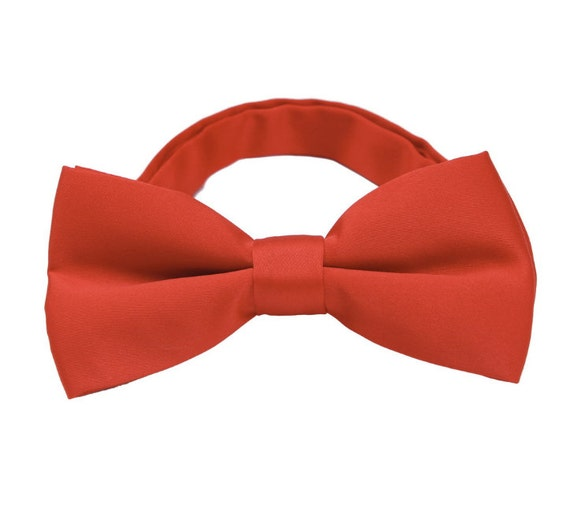 orange bow tiesorange wedding bow tiemens bow tiespretied