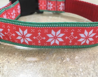 Christmas Fair Isle Collar