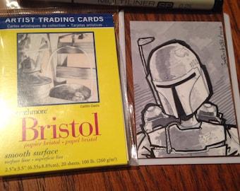 Custom Sketch Trading Card (Headshot only)