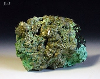 Bisbee, AZ - Rare & Unusual Native Copper on Pyrite Mineral Display Specimen - 220g