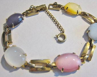 Colored Stone Bracelet