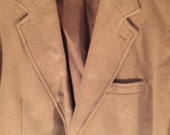 1960's Mens 100% Pure Camelhair Coat