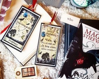 The raven boys tarot card