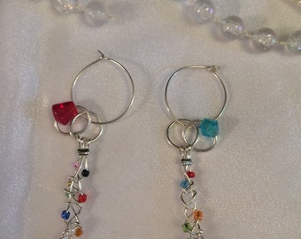Braided Carnival Earrings