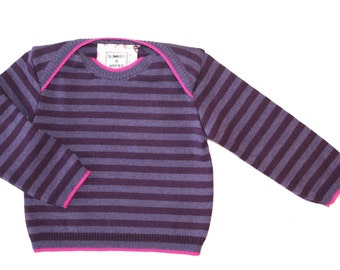 CORA sweater of fine Merino Wool