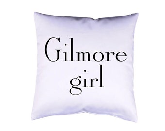 "Pillow case 16"" Gilmore Girls cushion cover with print on both sides optional with filling"