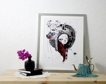 Print. Gernika. Pablo Picasso. 32 x 44, 5 cm.
