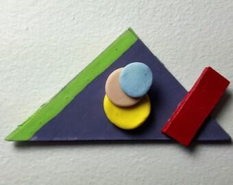 80s Deco Miniature MAGNET