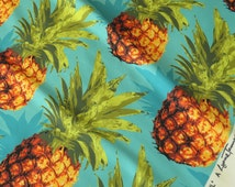 Pineapple Pattern Upholstery Fabric