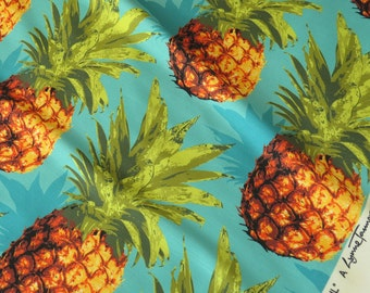 Pineapple Pattern Upholstery Fabric