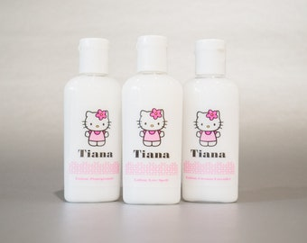 Personalized. Hello Kitty. 1oz Lotion or Sanitizer