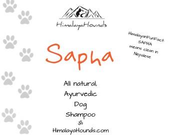 SAPHA dog shampoo