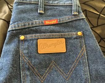 Vintage wrangler jeans 28 inch waist