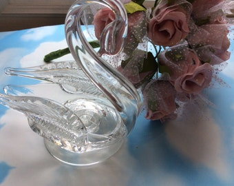 Art Glass Swan