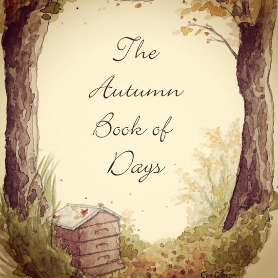 Autumn Seasonal Book of Days