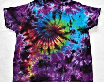 Tie Dye Shirt Galaxy Swirl Cotton