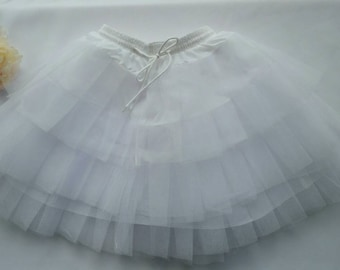 Girls Flowergirl Pagent Special Occssion Wedding Dress Crinoline Petticoat Slip Ready To Ship