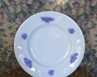 Adderley Blue Chelsea Bread and Butter / Salad Plate