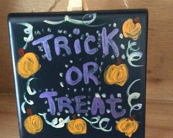 Decorative Halloween Tile