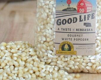 Nebraska Gourmet White Popcorn - BNEB5017