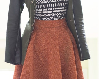 Fall/Winter Circle Skirt