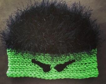 Crochet Hulk Hat / Frankenstein