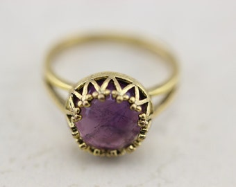 Amethyst ring Christmas gifts C314R-6