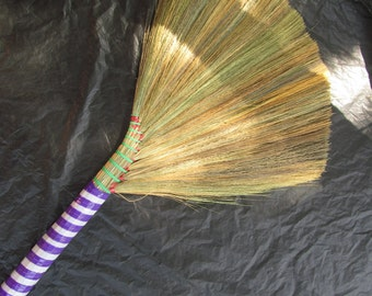 Undecorated Wedding Jump Broom  - Jump the Broom at Your Wedding  - P/W