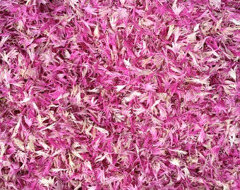 Real Flower Petal Confetti: All Natural, Pink, Eco-Friendly, Biodegradable, Real Flower Petal Wedding Confetti, for 10 people.